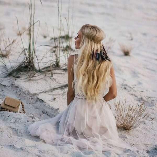 peinados con diadema para boda
