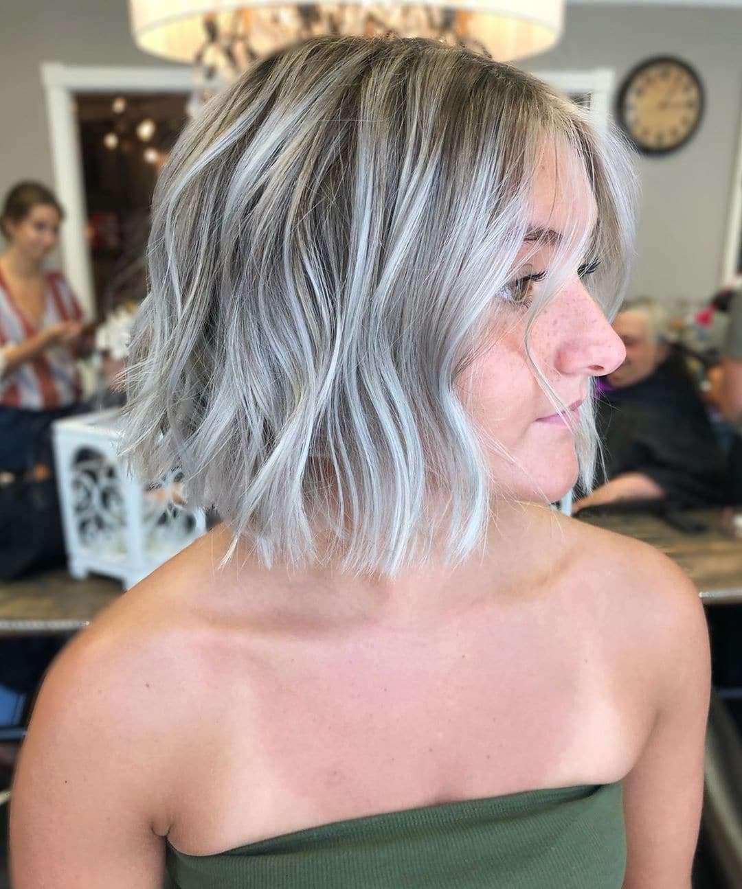 fryzury krótki bob