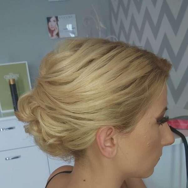 peinados para boda pelo corto mujer