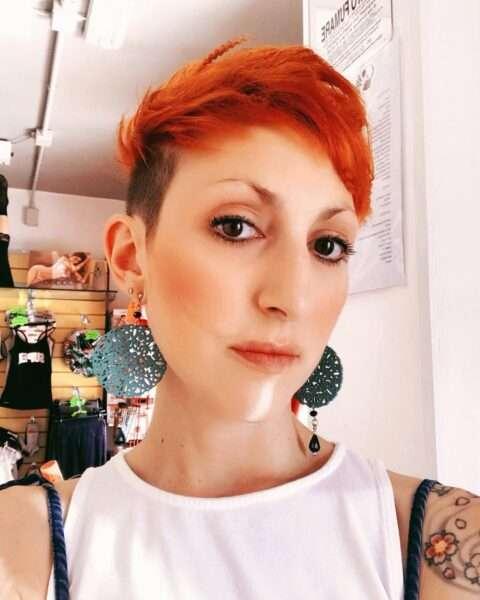 pixie cut dla cienkich włosów