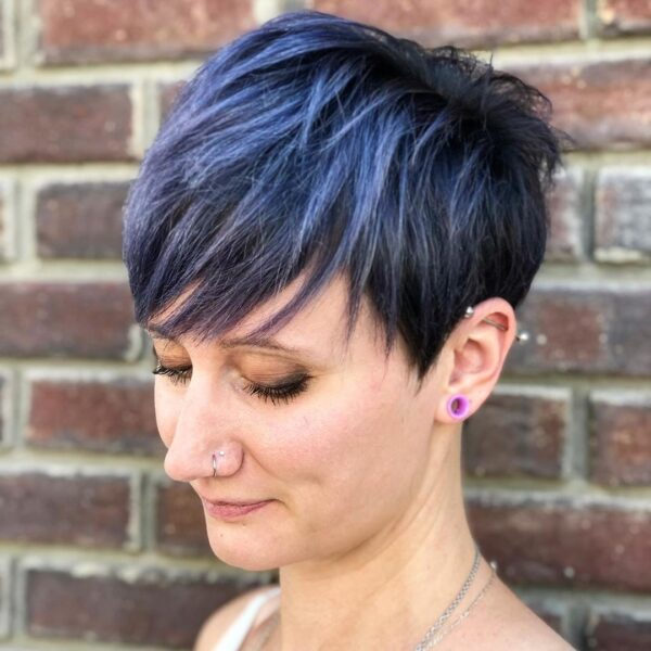fryzury pixie cut 2021