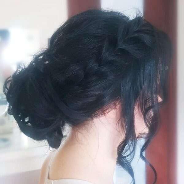 peinados pelo largo para boda