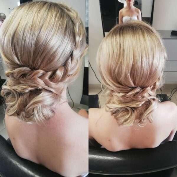 peinados con trenza para boda