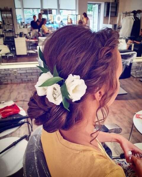 peinados pelo corto boda