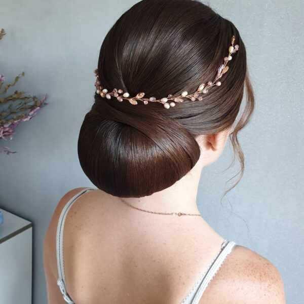 peinados de boda pelo largo