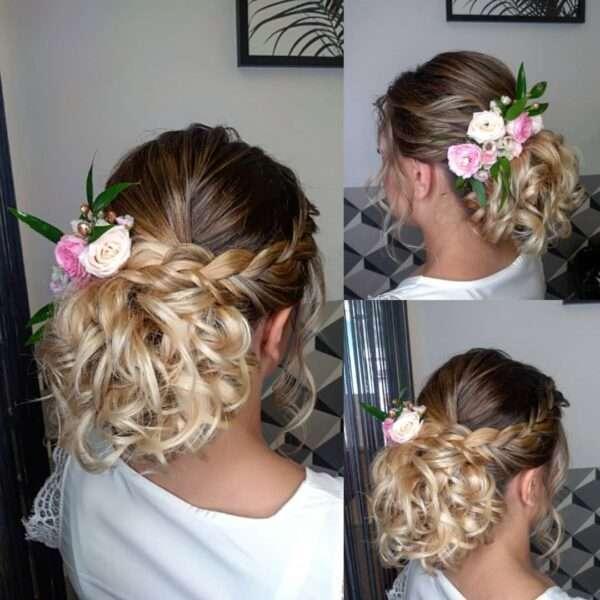 peinados con trenzas para bodas invitadas