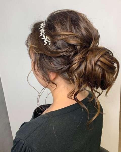 peinados madrina boda