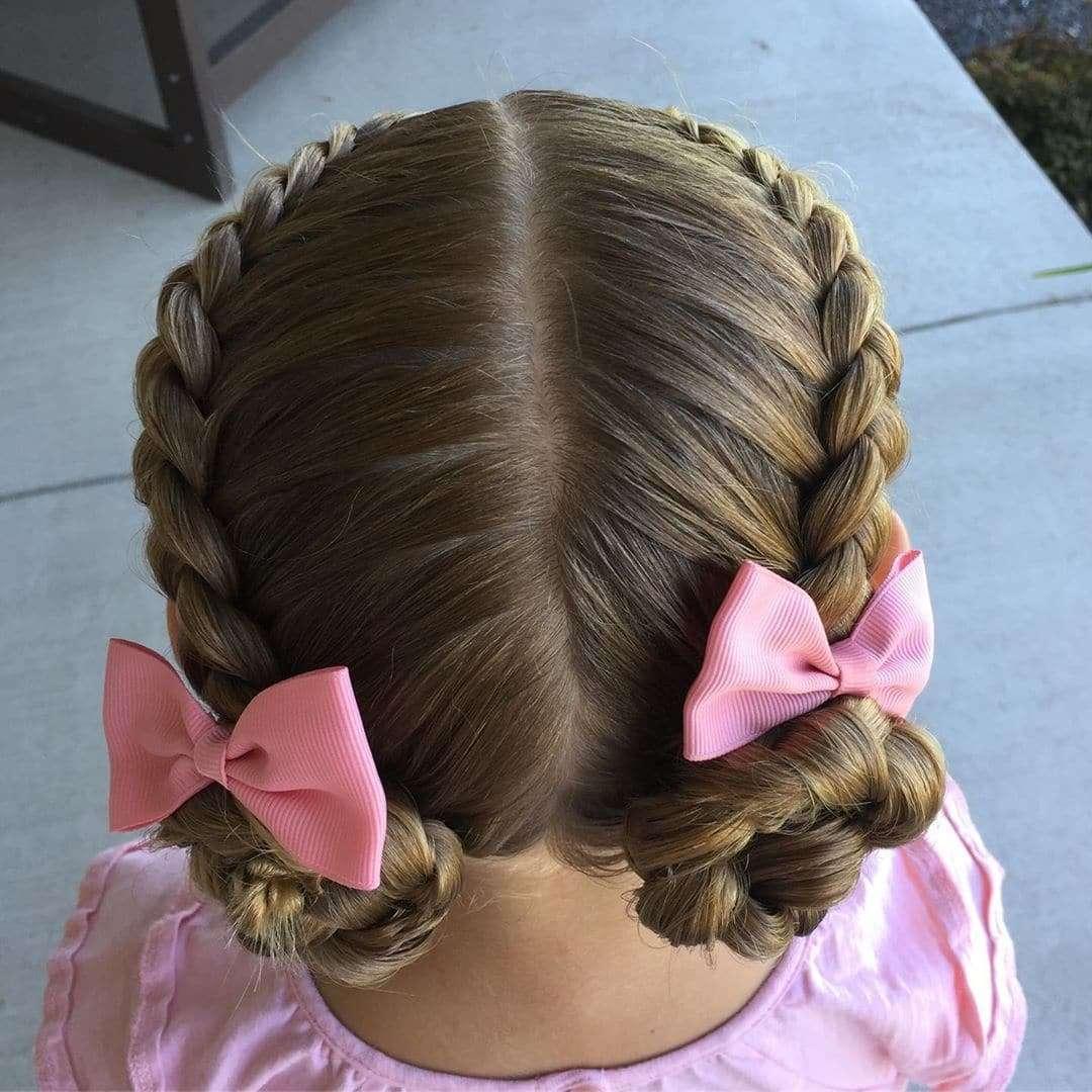 fryzury dla dziewczynek plecione