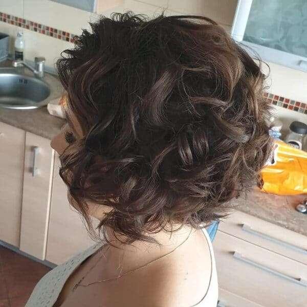 peinados pelo corto para boda