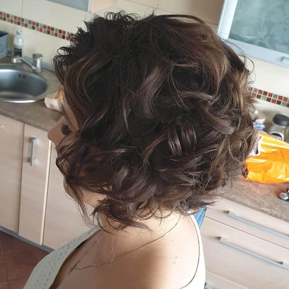 fryzury krótkie na wesele