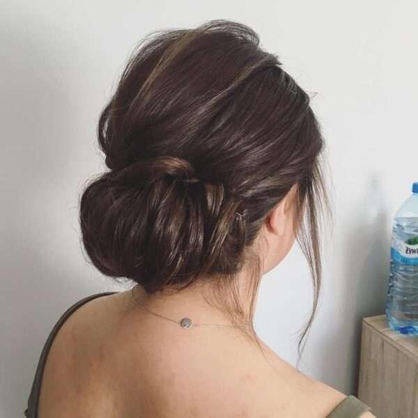 peinados sencillos para boda