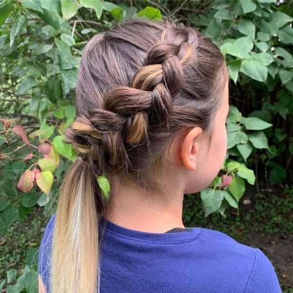 modne fryzury dla dziewczynek