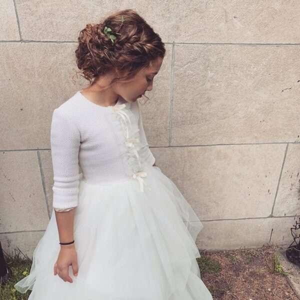 fryzury dla dziewczynek na komunie