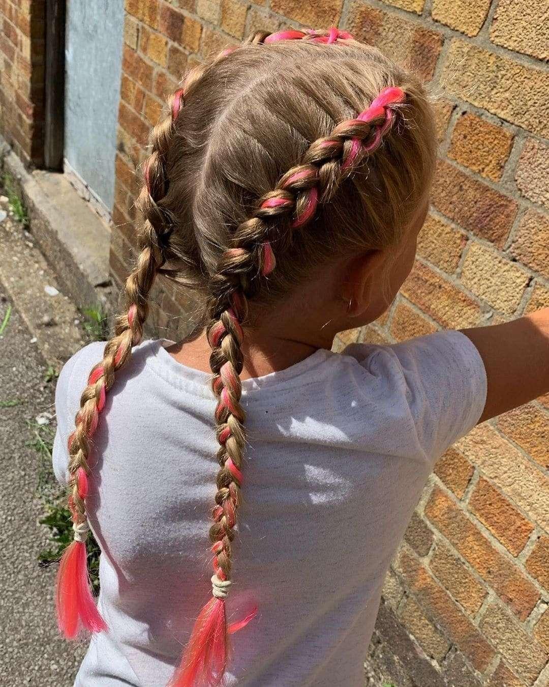 fryzury dzieciece dla dziewczynek