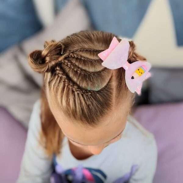 fryzury dla dziewczynek na wesele