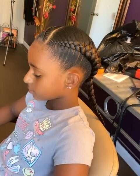 fryzury dla dziewczynek warkocze