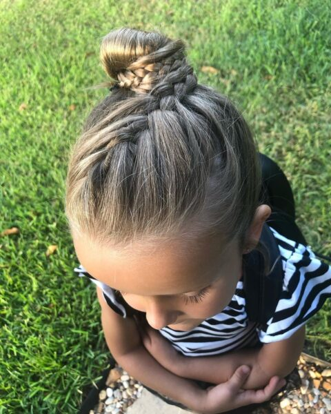 fryzury dla dziewczynek w wieku 8 lat