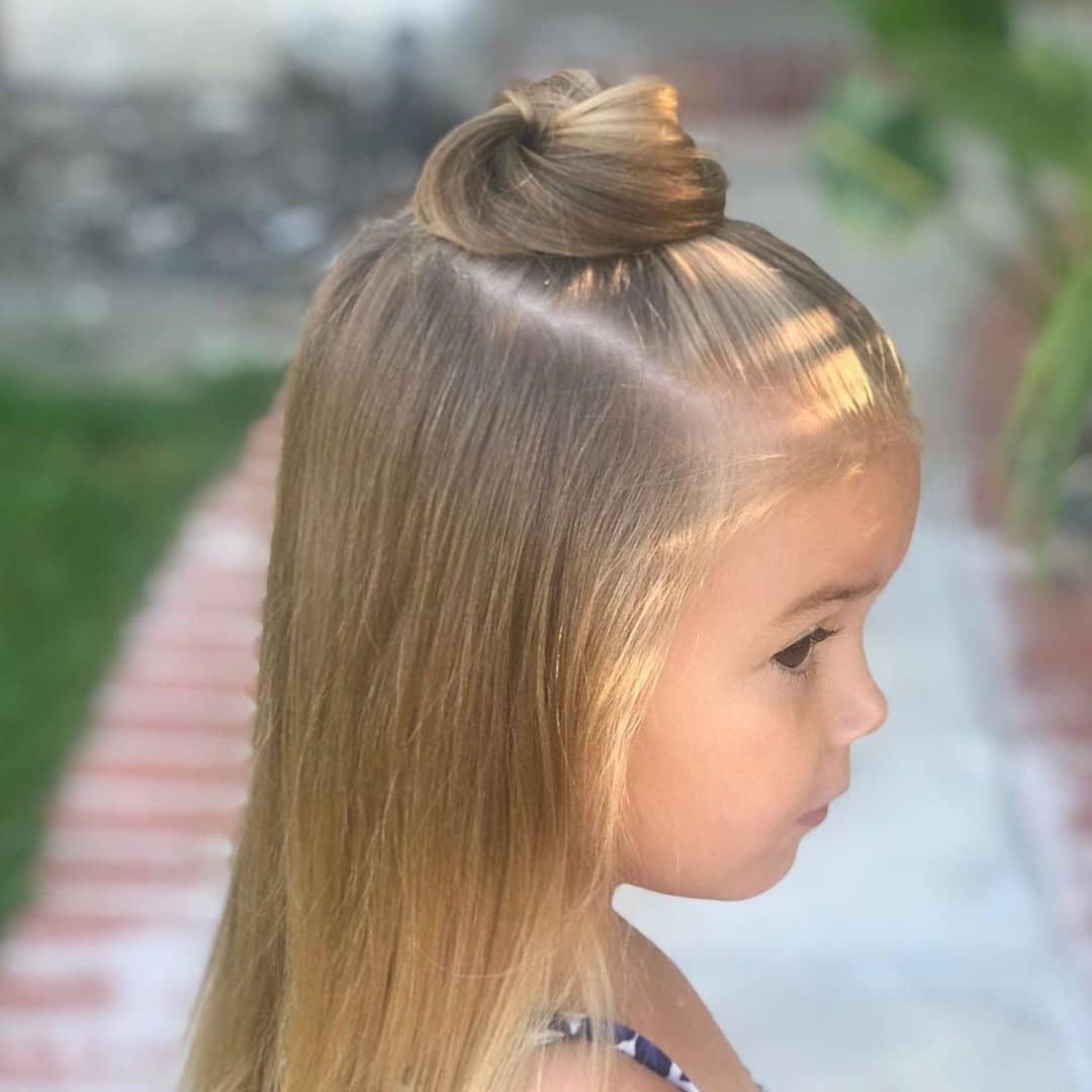 fryzury dla dziewczynek do przedszkola
