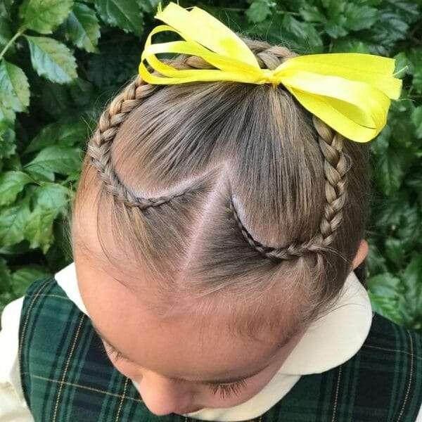 fajne fryzury dla dziewczynek