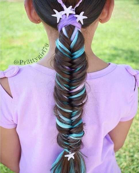 fryzury dla dziewczynek w wieku 10 lat
