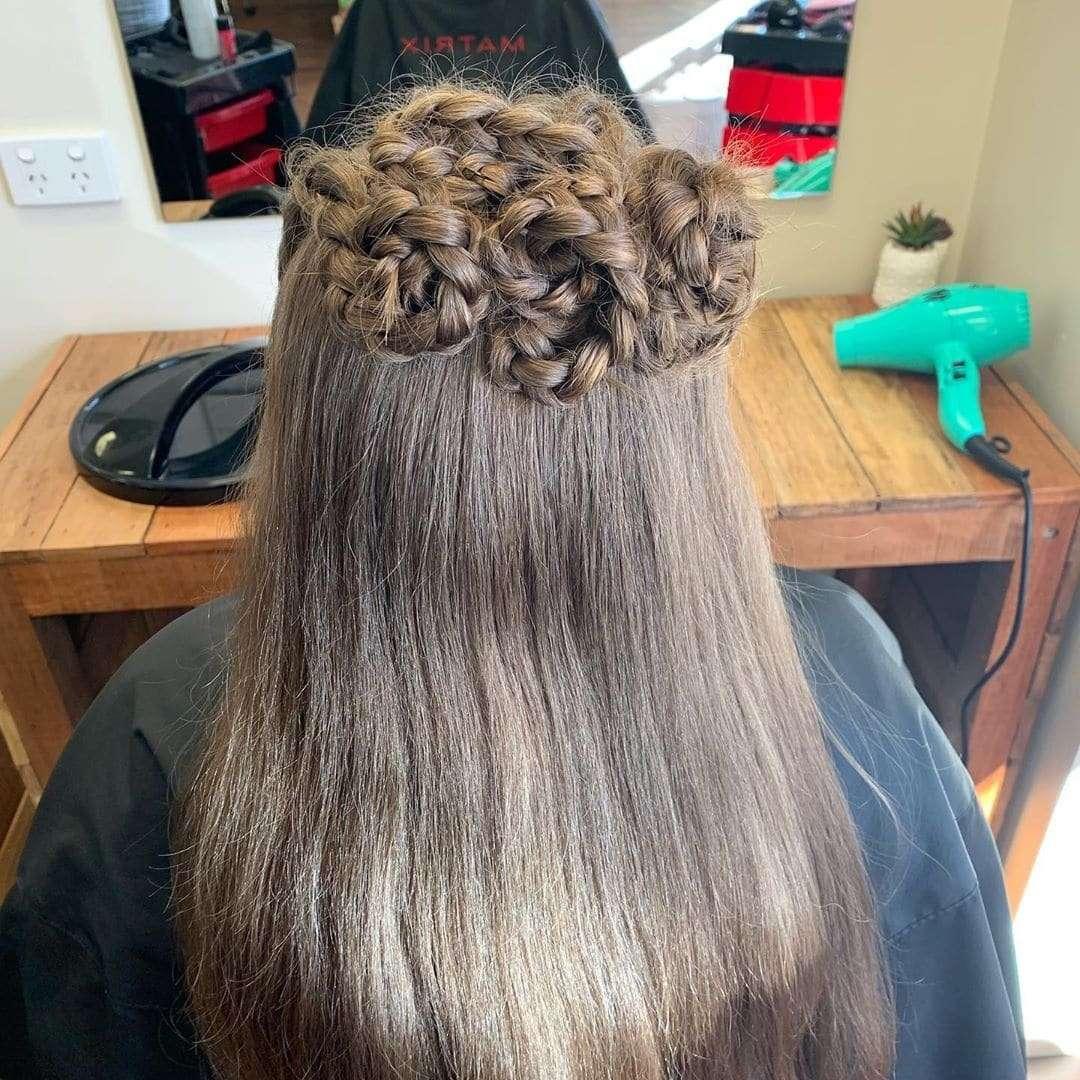 fryzury dla dziewczynek na wesele krok po kroku