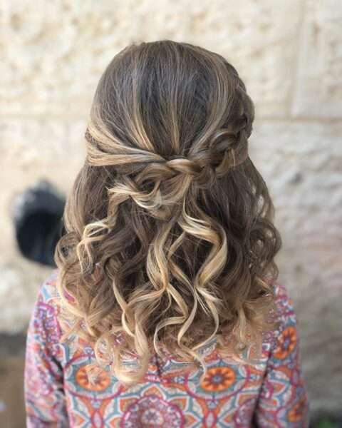 łatwe fryzury dla dziewczynek