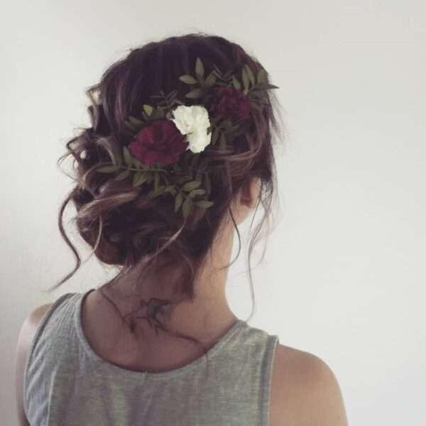 peinado para invitada de boda