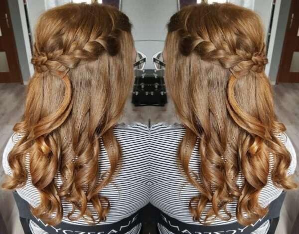 peinados para bodas de noche
