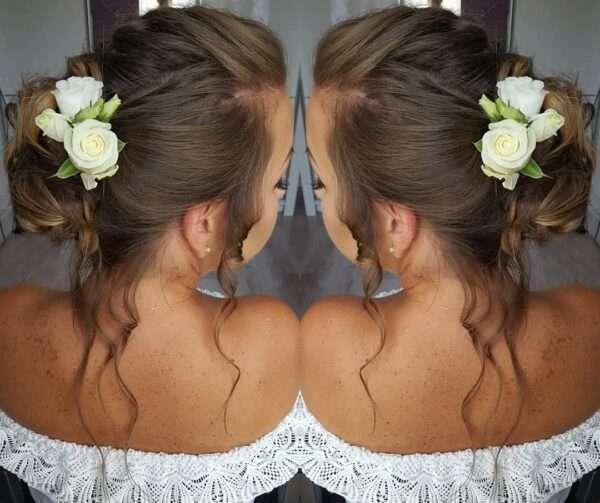 peinado para boda invitada