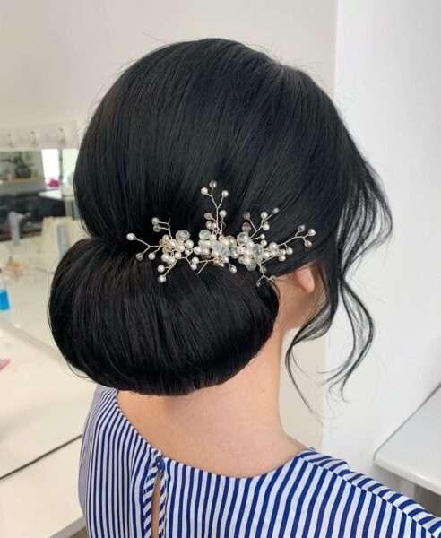 peinado fácil para boda