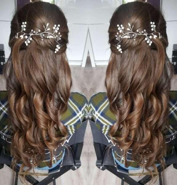 peinados para bodas invitadas pelo largo