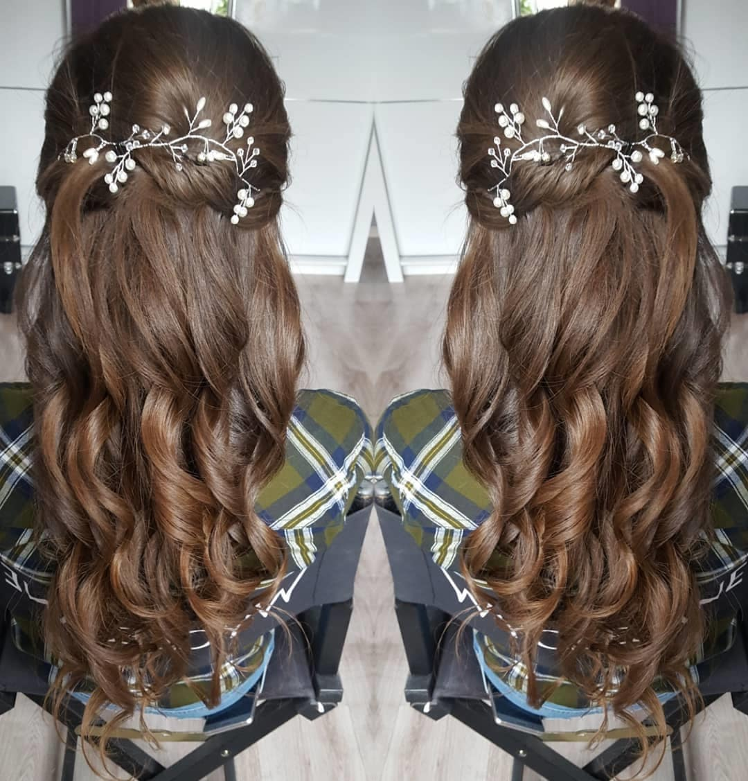 fryzury długie włosy na wesele