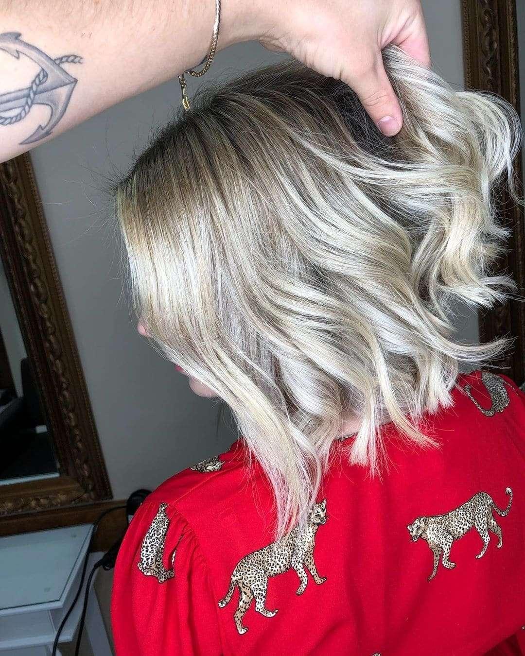 лонг боб на длинные волосы