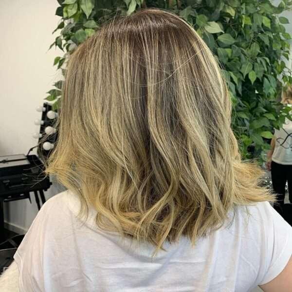 fryzury dla okrągłej twarzy 2021