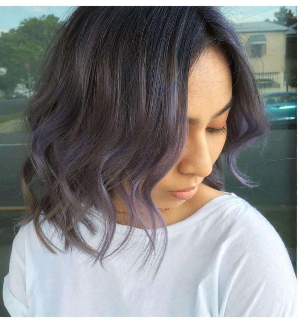 удлиненный боб на вьющиеся волосы