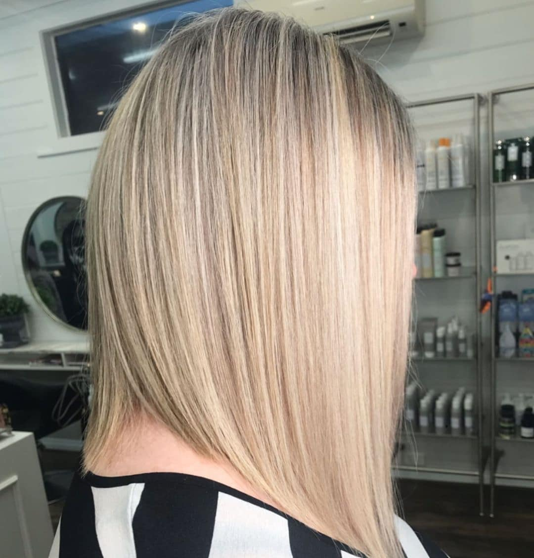 blond ombre bob