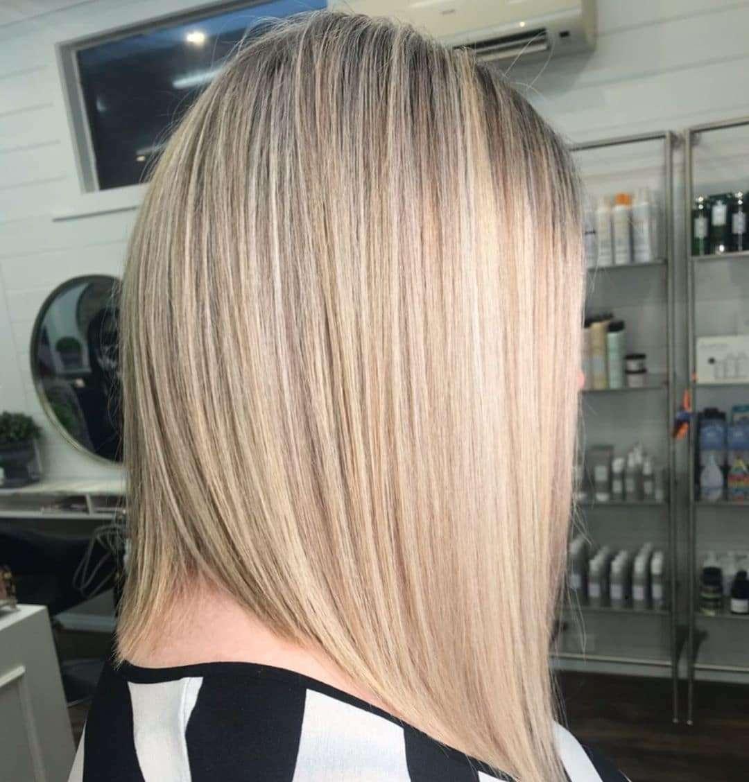 blond ombre bob