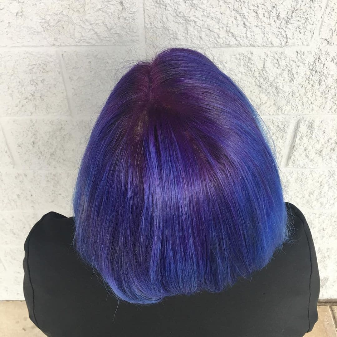 fryzury asymetryczne dla okrągłej twarzy