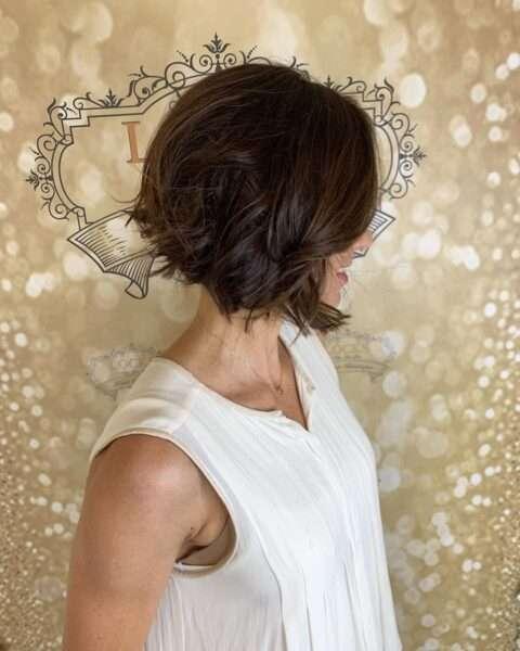 krótkie fryzury 2017 dla okrągłej twarzy