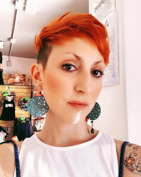 fryzura do okrągłej twarzy