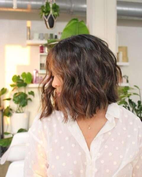 fryzury do okrągłej pulchnej twarzy