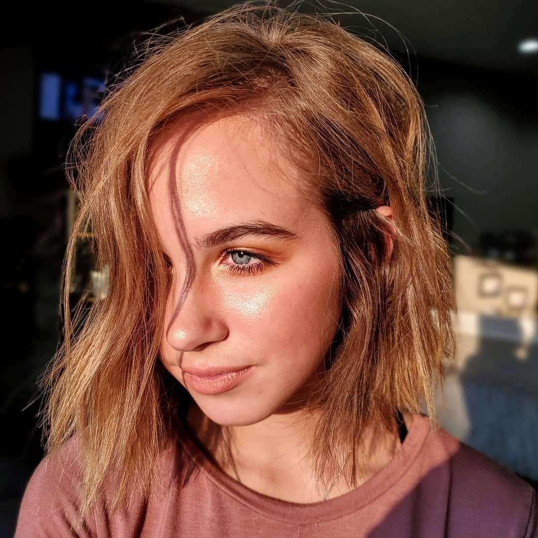 włosy do ramion fryzury