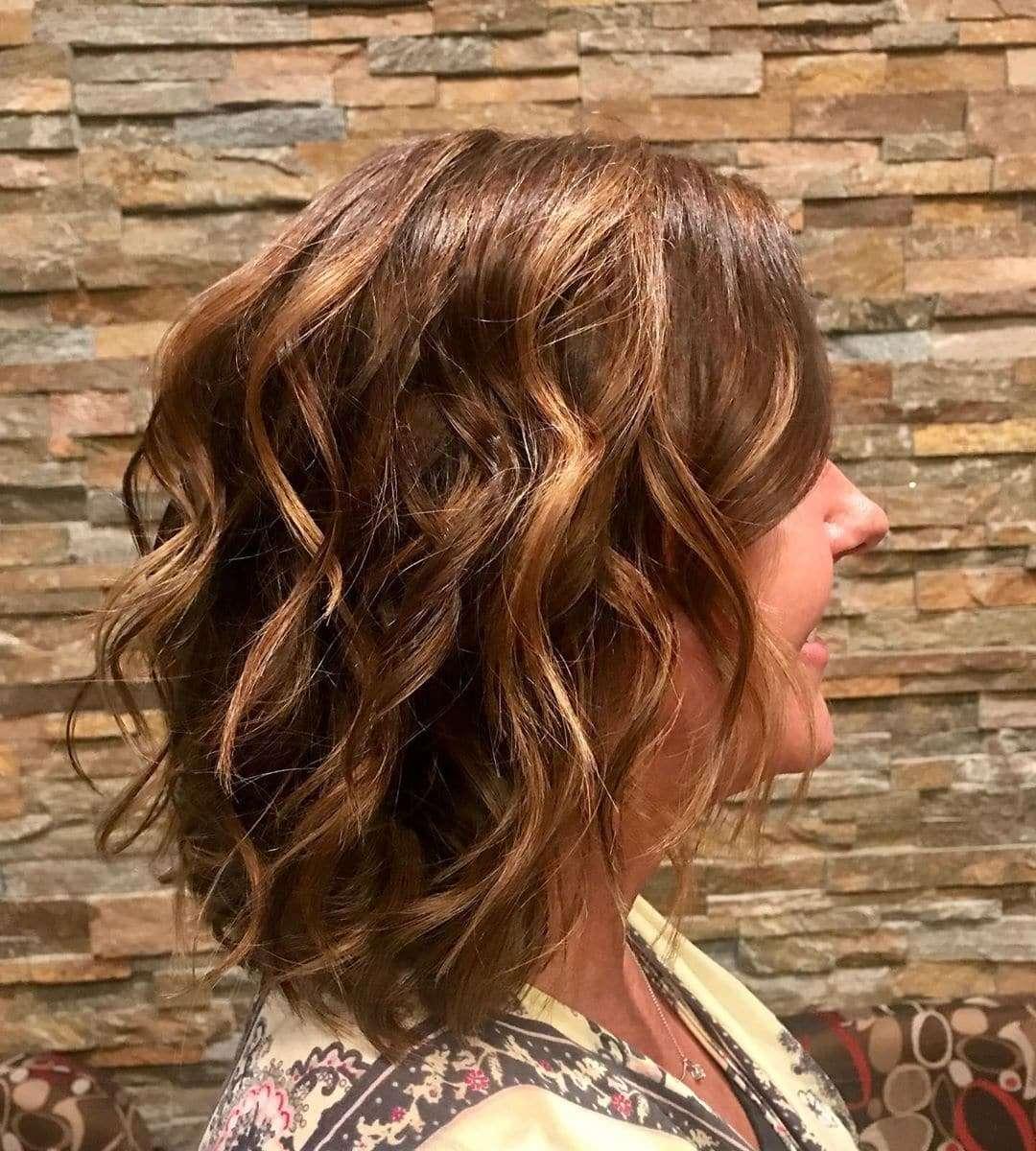 fryzury włosy do ramion