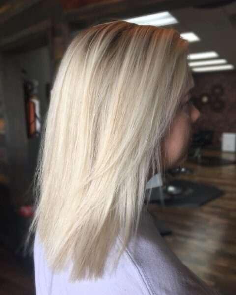 fryzury na codzień włosy do ramion
