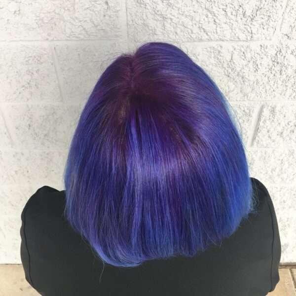 corte de pelo corto de dos capas