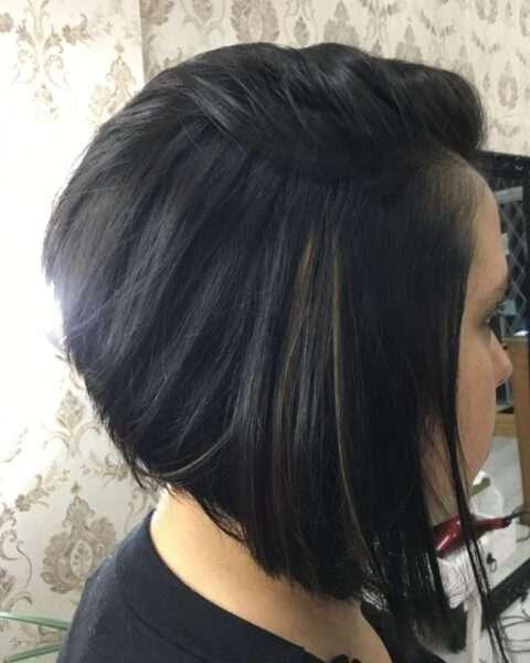 fryzury damskie z grzywką na bok krótkie