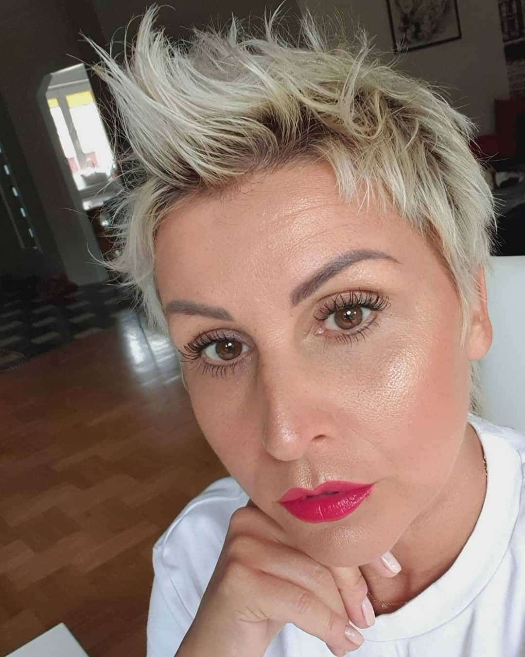 fryzury damskie bardzo krótkie