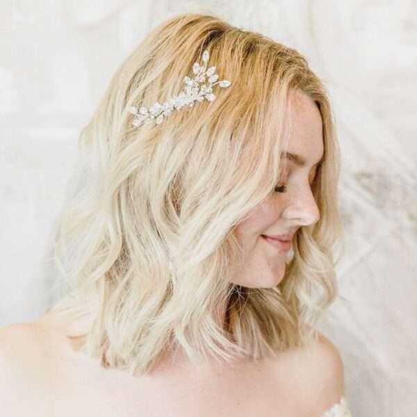 peinados pelo corto boda invitada