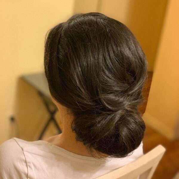 peinados para madrina de boda con media melena
