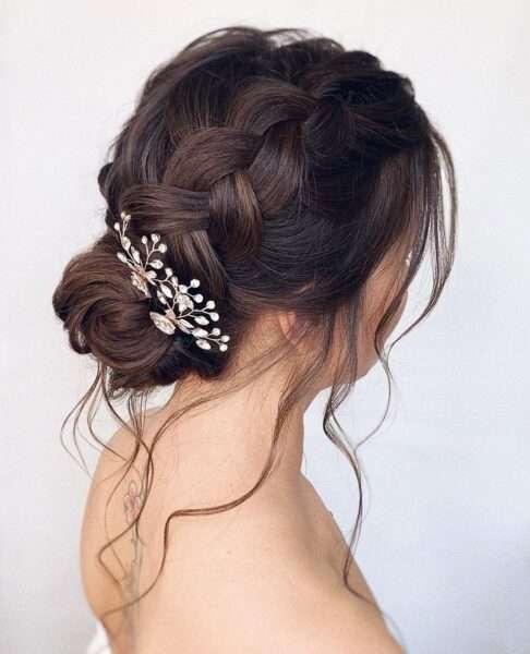 peinados para ir de boda pelo media melena